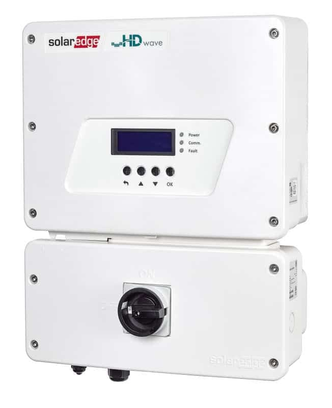 SolarEdge SE7600H HD-Wave RGM Inverter
