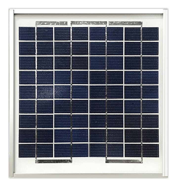 Ameresco BSP5-12 5w Silver Poly Solar Panel
