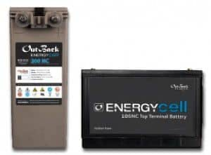 Outback Power Nano-Carbon 200NC, 178 AH 12V AGM Battery