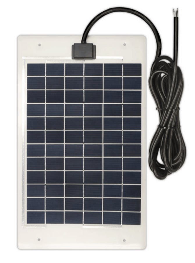 Ameresco BSP10-12LSS 10w Silver Poly Solar Panel