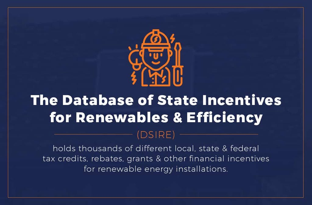 The Database of State Incentives for Renewables & Efficiency