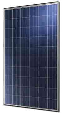 Astronergy Astronergy 250 watt Module Silver MC4 CHSM6610P-250 - 40mm Black Frame Solar Panel
