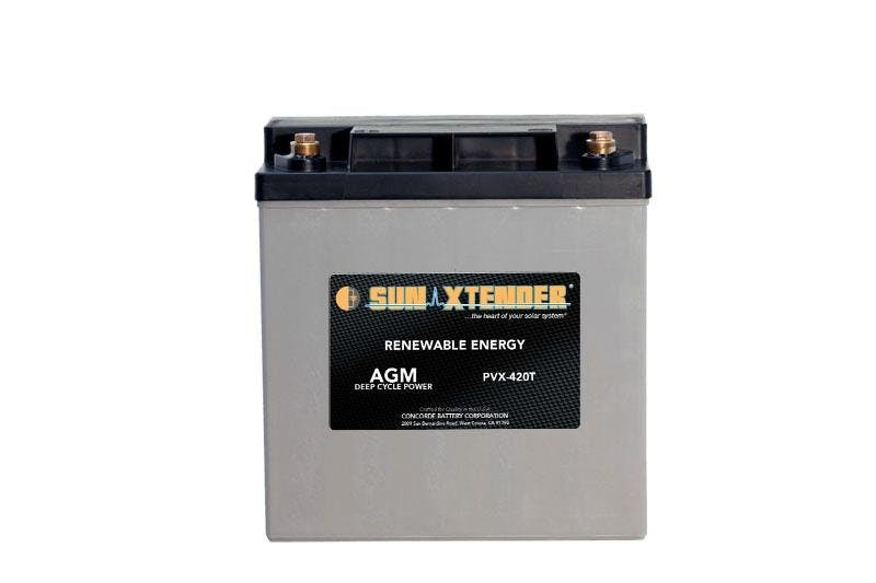 Concorde / Sun Xtender PVX-420T AGM Battery
