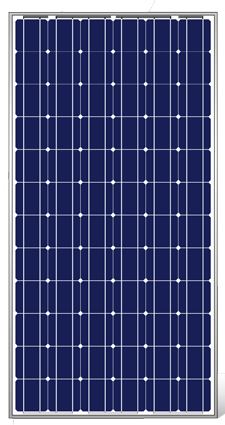 Eoplly EP125M/72-190 Silver Mono Solar Panel