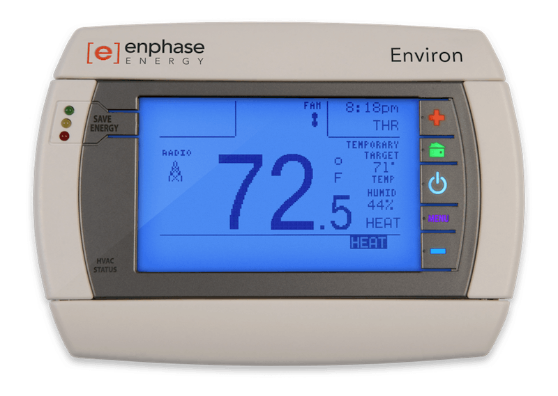 Enphase Environ Smart Thermostat