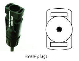 Multi-Contact USA MC4 Male Connector