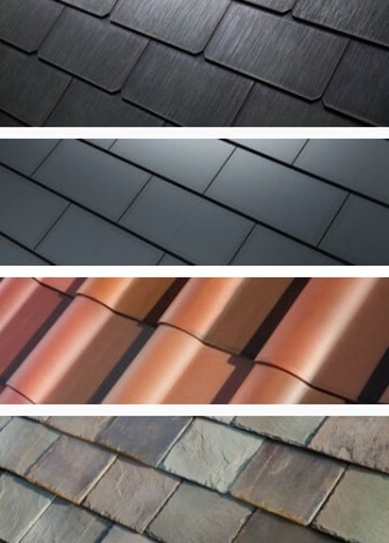 Tesla's Solar Roof tile designs
