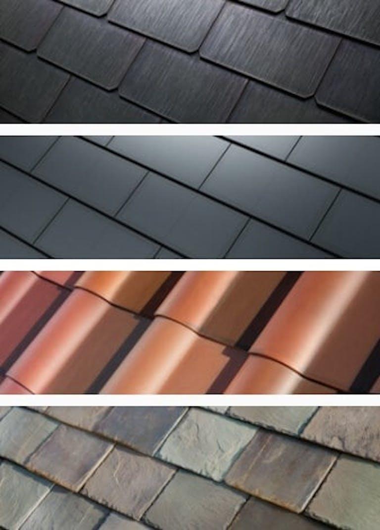 Tesla's Solar Roof tile designs