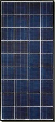 Kyocera KD140SX-UFBS Black Poly Solar Panel