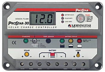 Morningstar Corporation ProStar PS-15M-48-PG Charge Controller