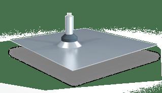 Quick Mount QMSFT A 1 PV Standard Flat Tile Flashing - Single