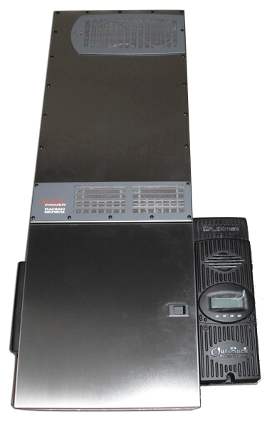 Outback Radian GS8048A-01 8,000 watt with FM80 Power Center