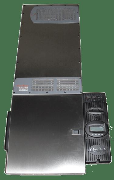 Four Star Solar Outback Radian GS8048A 8,000 watt with FM80 Power Center