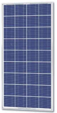 Solarland SLP110-12U Silver Poly Solar Panel