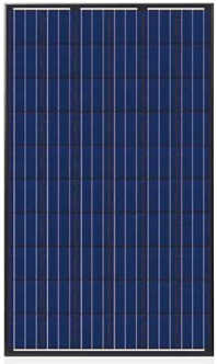 Trina Solar, Inc. Trina TSM-230PA05 230-watt Solar Panel, Black Frame and Panel Solar Panel