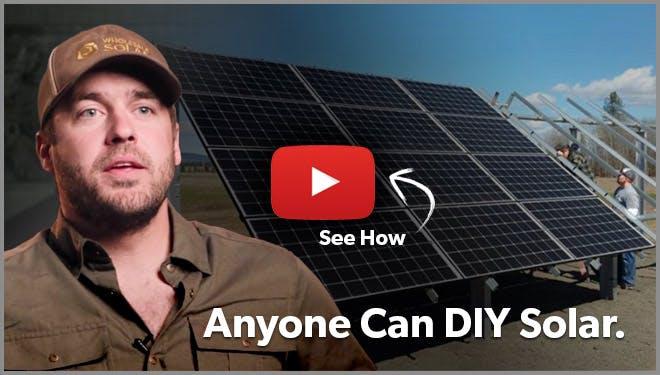 anyone can diy solar