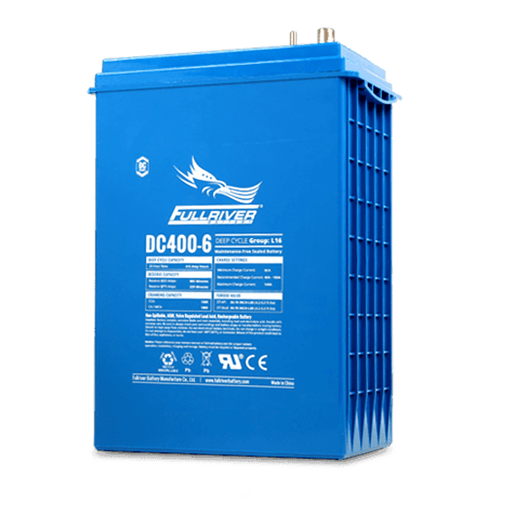 Best battery backup for grid-tie systems: Fullriver DC400-6