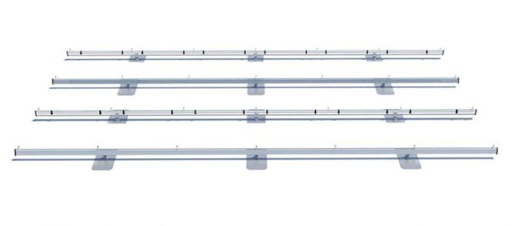 Best fixed roof mount: IronRidge XR100