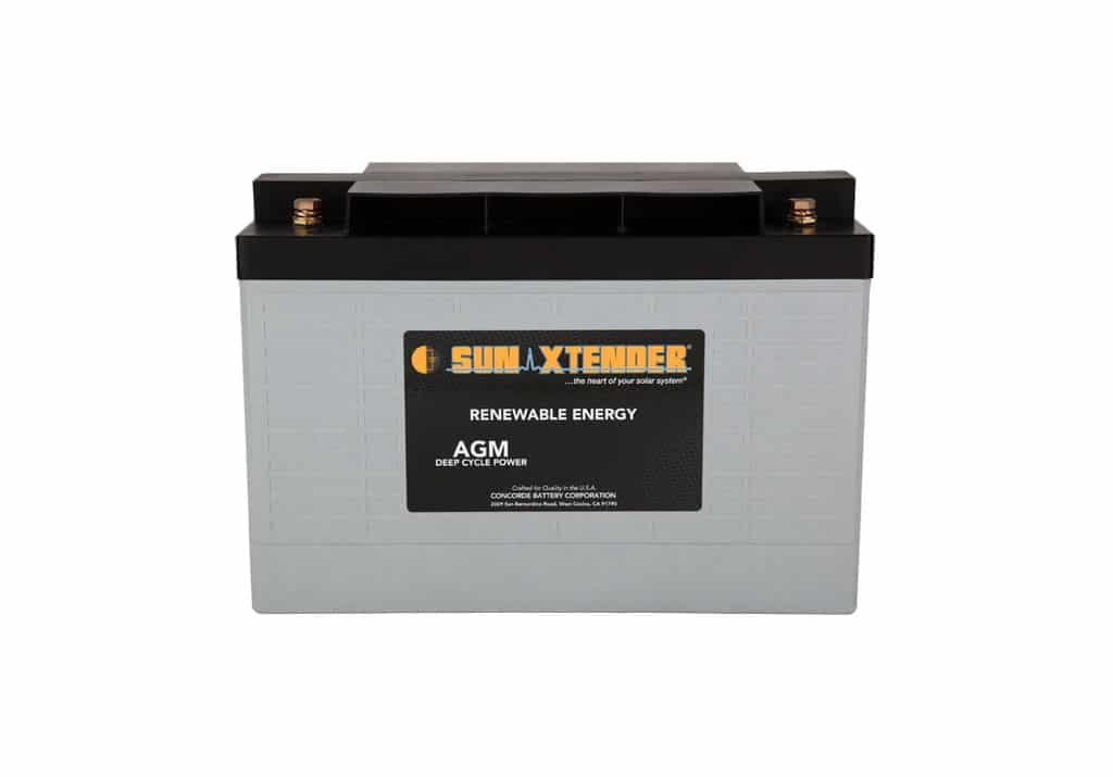 Concorde / Sun Xtender PVX-1180T AGM Battery