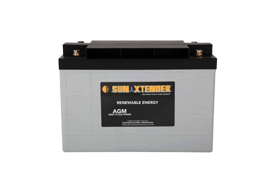 Concorde / Sun Xtender PVX-6480T AGM Battery