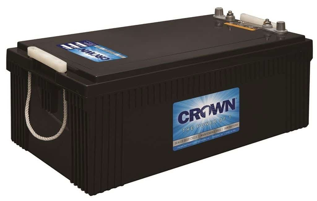 Crown 12CRV8D, 240Ah 12V AGM Battery