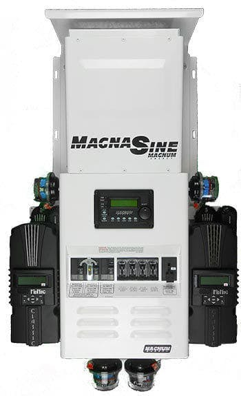 Four Star Solar Magnum Single MS2812 w/ 2 Classic 150's Power Center