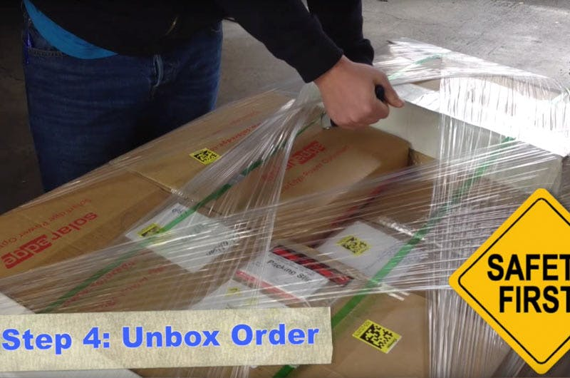 Unboxing freight