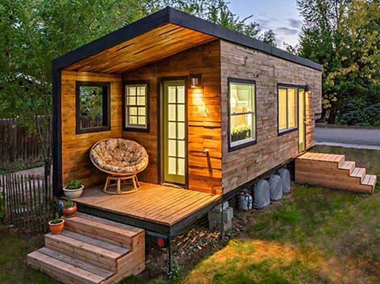 Tiny houses offer the benefit of mobility