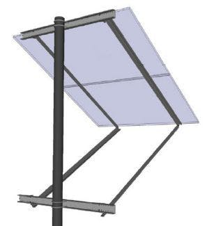 General Specialties SOP-Y Side of Pole Mount (for Panel Sizes: D)