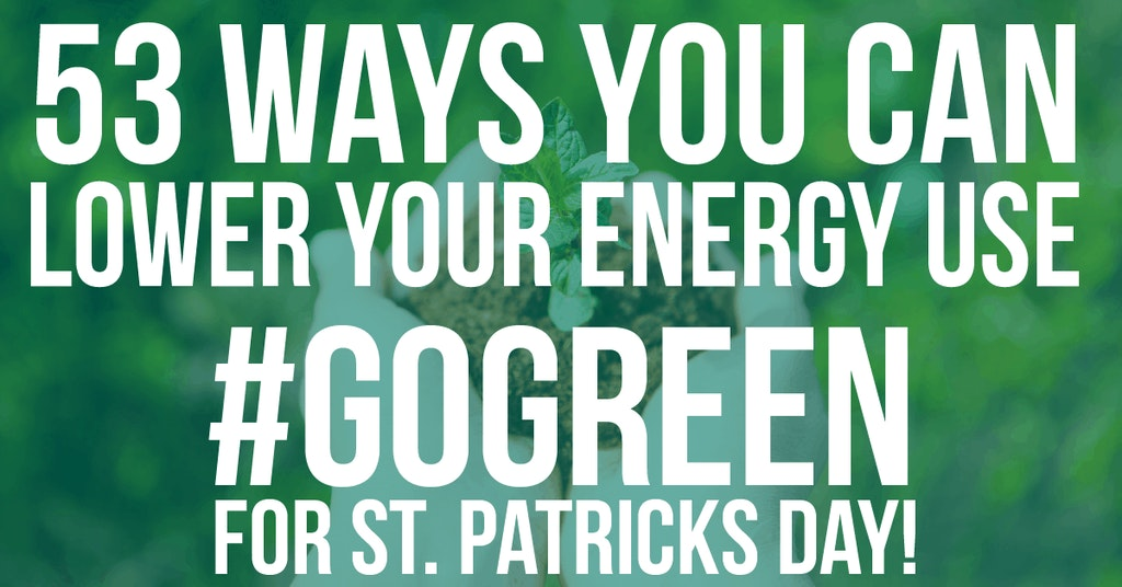 53 ways to go green