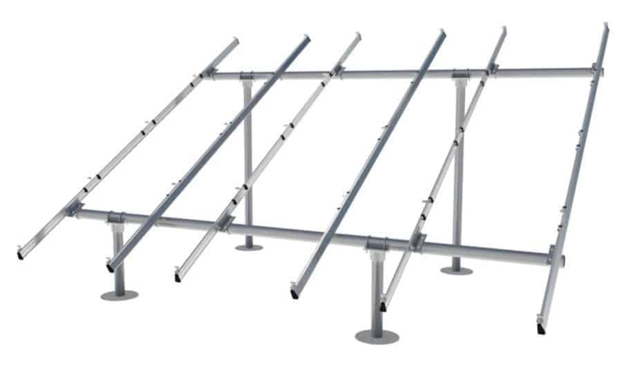 IronRidge Ground Mount Racking for 2