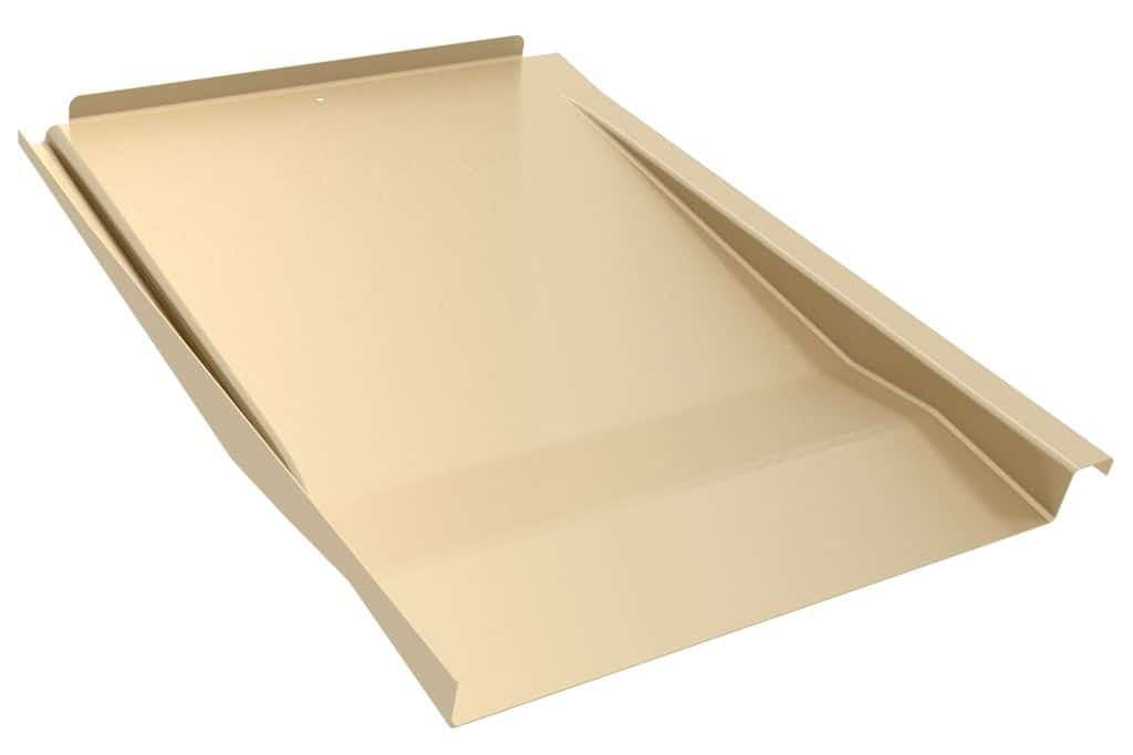 IronRidge Tile Replacement Flashing Flat, Tan