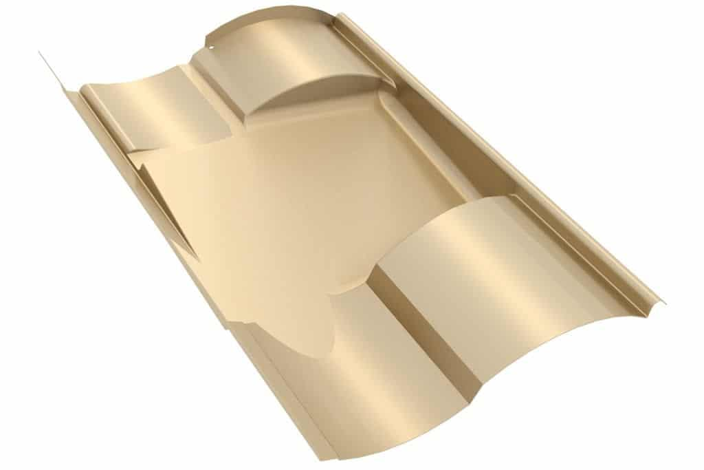 IronRidge Tile Replacement Flashing S, Tan