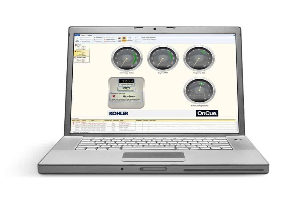 Kohler OnCue Generator Management System