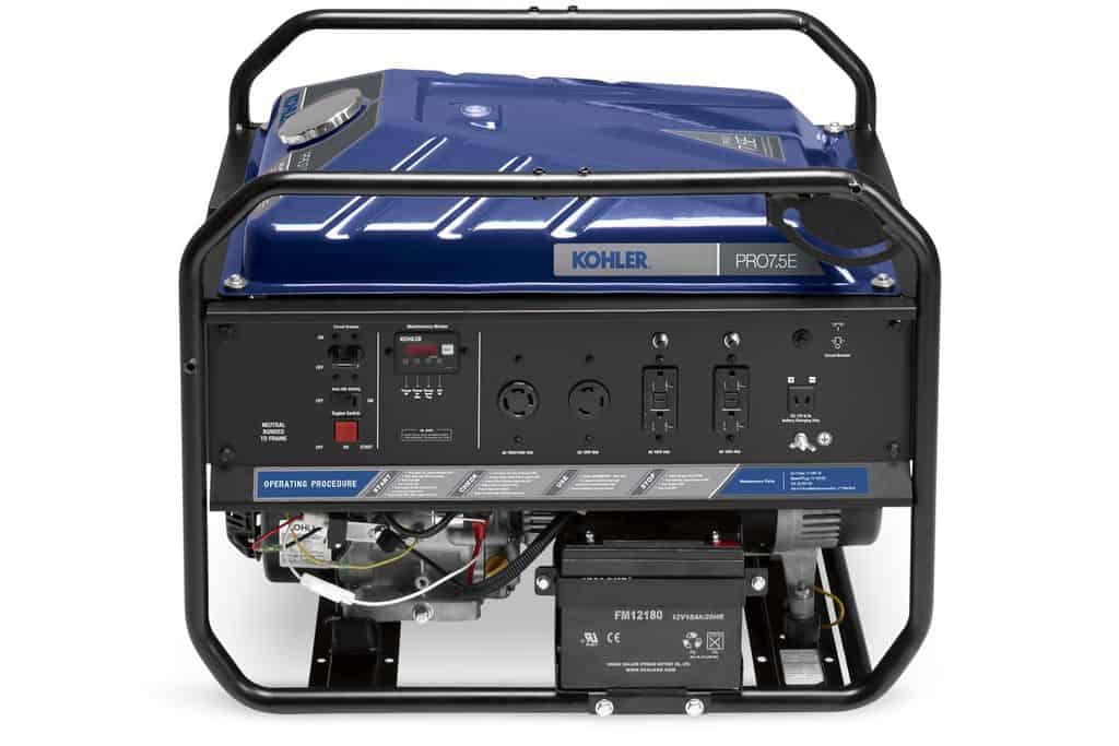 Kohler PRO 7.5E with Electric Start Portable Generator