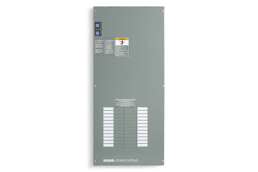 Kohler RDT 100A / 240V Indoor Transfer Switch with Load Center