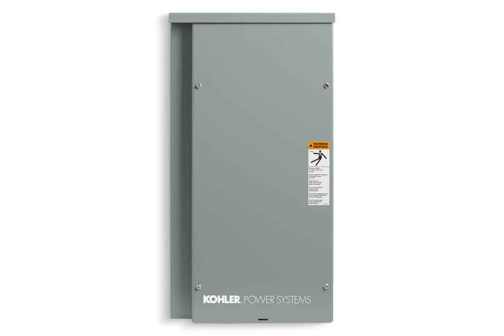 Kohler RXT 100A / 240V Outdoor Transfer Switch with Load Center