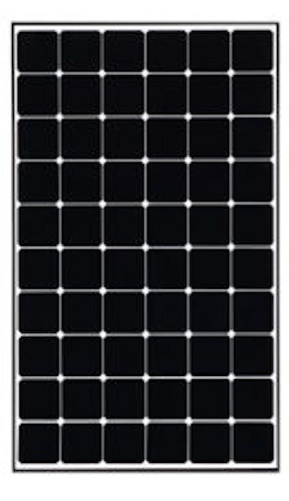 Best premium solar panel: LG 360W panel