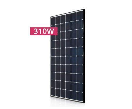 LG 310N1C Black Mono Solar Panel