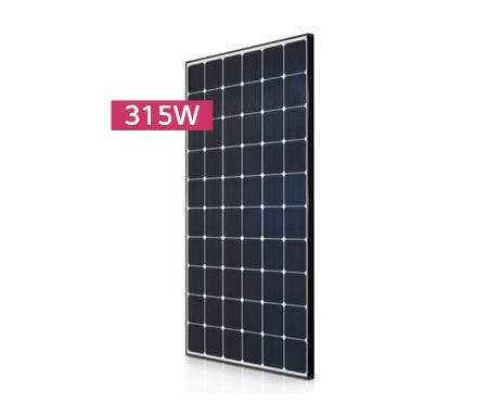 LG 315N1C Black Mono Solar Panel