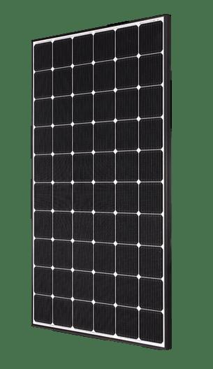 LG NeON2 LG-335N1C-A5-AWB Matte Black Mono Solar Panel
