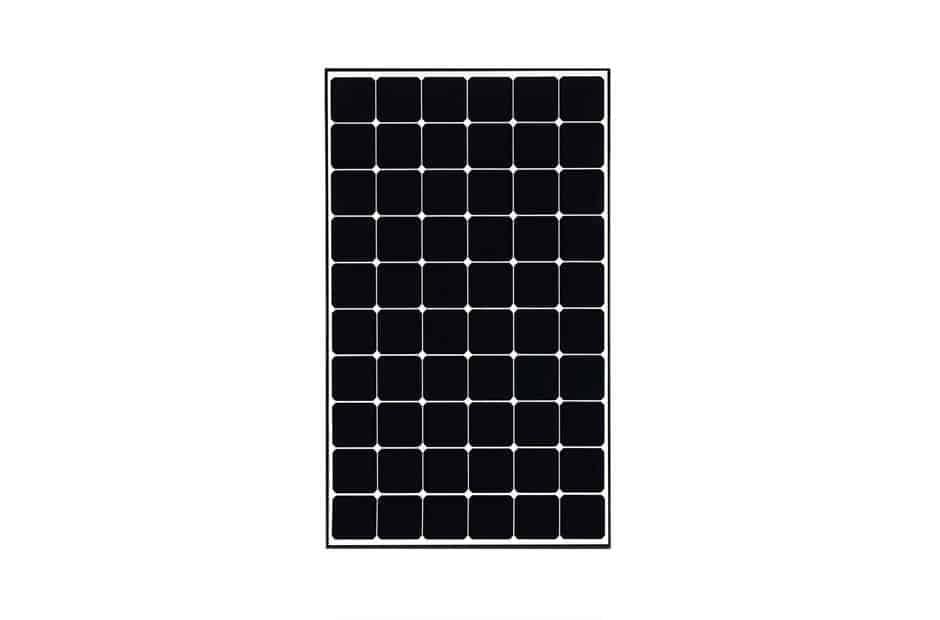 LG NeONR LG-350Q1C-A5 350 Watt Mono Black Frame Solar Panel