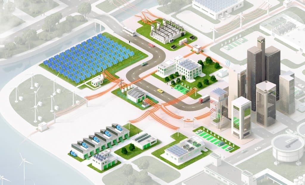 microgrid conceptual power flow