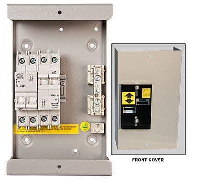 MidNite Solar MidNite 240 VAC Dual 30 amp Transfer Switch