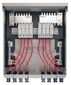MidNite Solar MNPV8-MC4, 8 Position Pre-wired Combiner Box