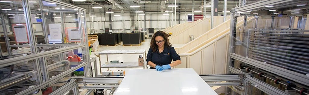 Mission Solar Panels are assembled in the USA.
