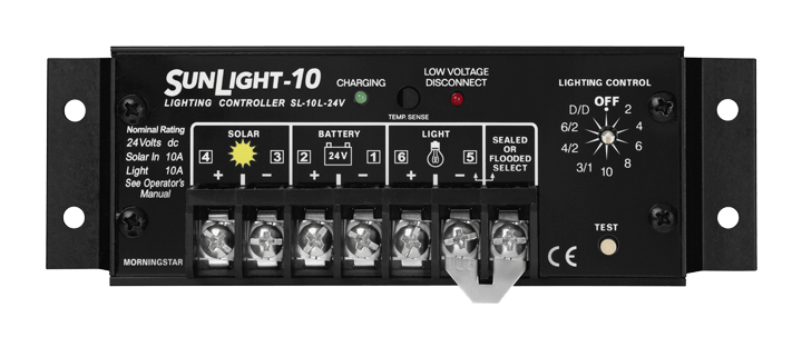 Morningstar Corporation SunLight SL-10L-24V Charge Controller