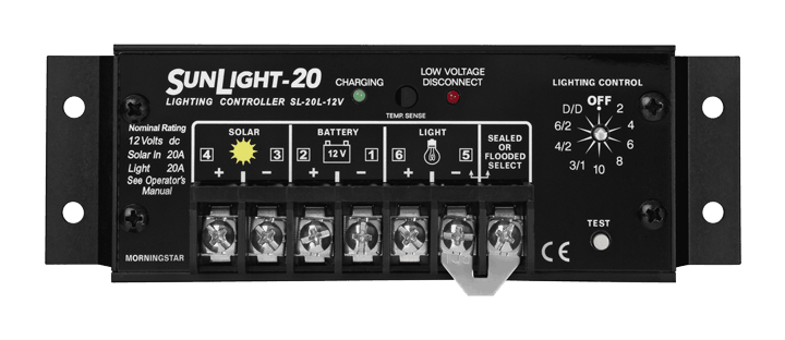 Morningstar Corporation SunLight SL-20L-12V Charge Controller