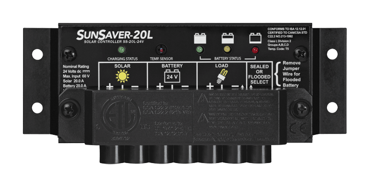Morningstar Corporation SunSaver SS-20L-24V Charge Controller