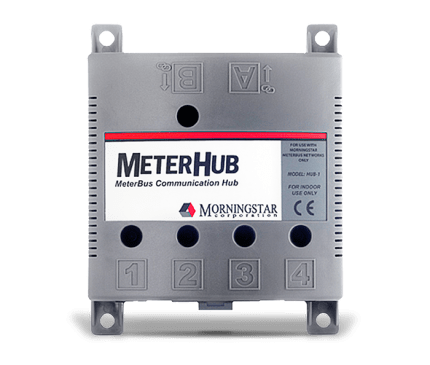 Morningstar Corporation Meter Hub-1